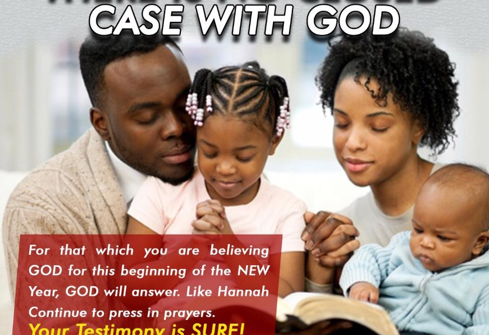 ?THERE IS NO CLOSED CASE WITH GOD?