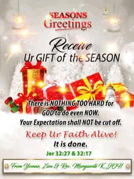 🥗🔴 Seasons Greetings 🔴🥗