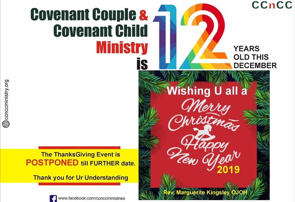 CCnCC @ 12 Postponed
