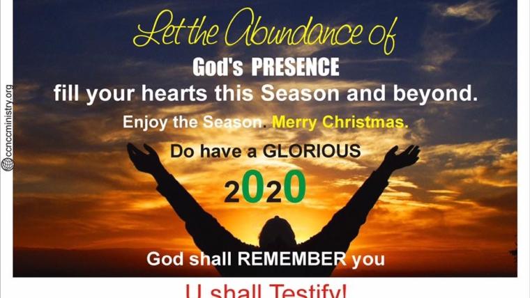 THE ABUNDANCE OF GOD'S PRESENCE