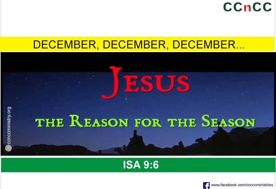 ❤️JESUS – THE REASON FOR THE SEASON❤️
